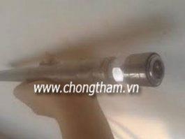 Phương pháp vá kết cấu bê tông và chống thấm bằng keo Epoxy