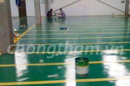 Giải pháp sơn sàn Proxy nền tầng hầm