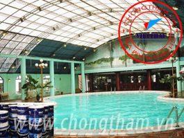 Chống thấm bể bơi, chống thấm công trình ngầm