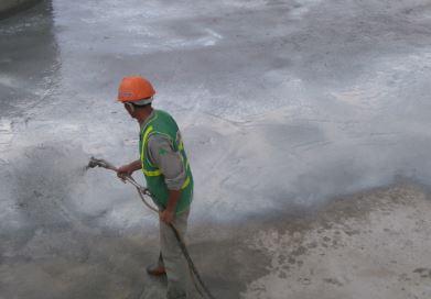 Chống thấm bể nước nhà máy Bia Nam Định