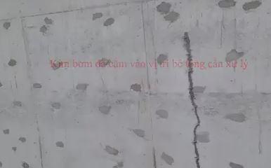Chống thấm tầng hầm biệt thự Thái Bình bằng keo epoxy