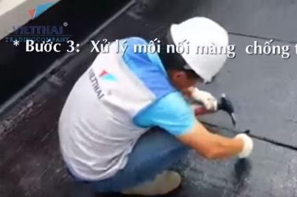 Chống thấm sàn mái VSip Bắc Ninh, màng tự dính