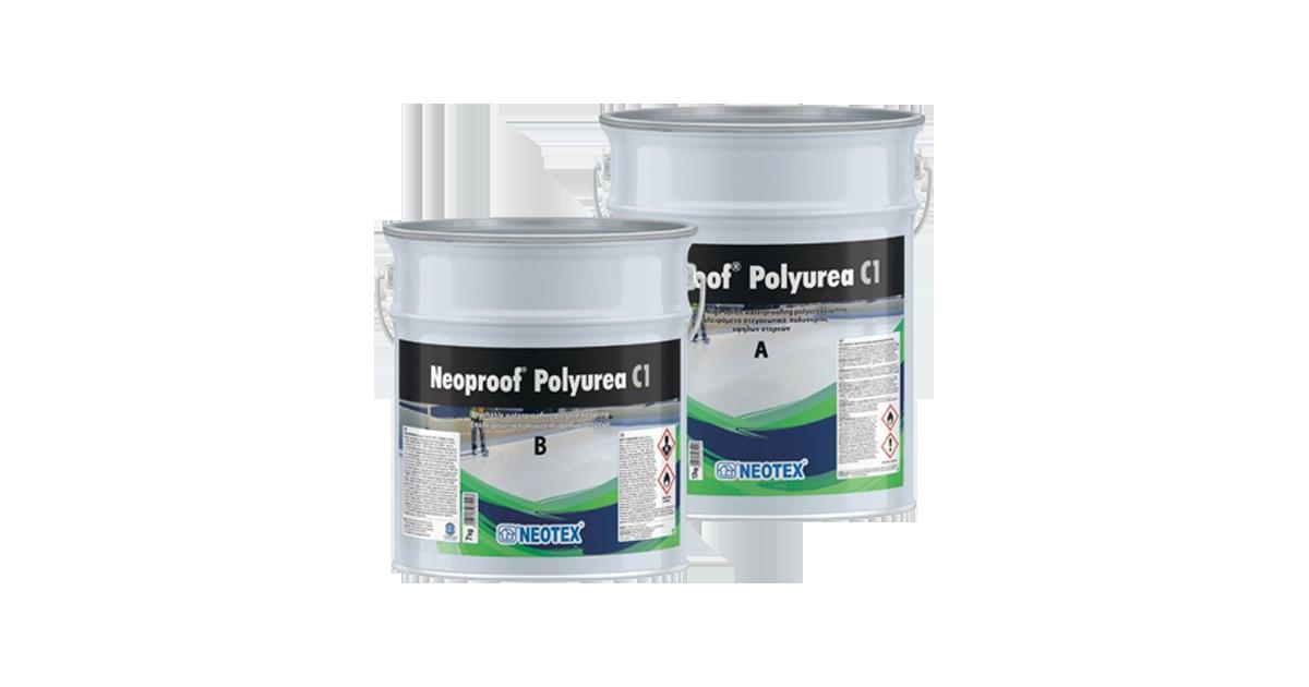 Chất chống thấm sàn mái Neoproof® Polyurea C1