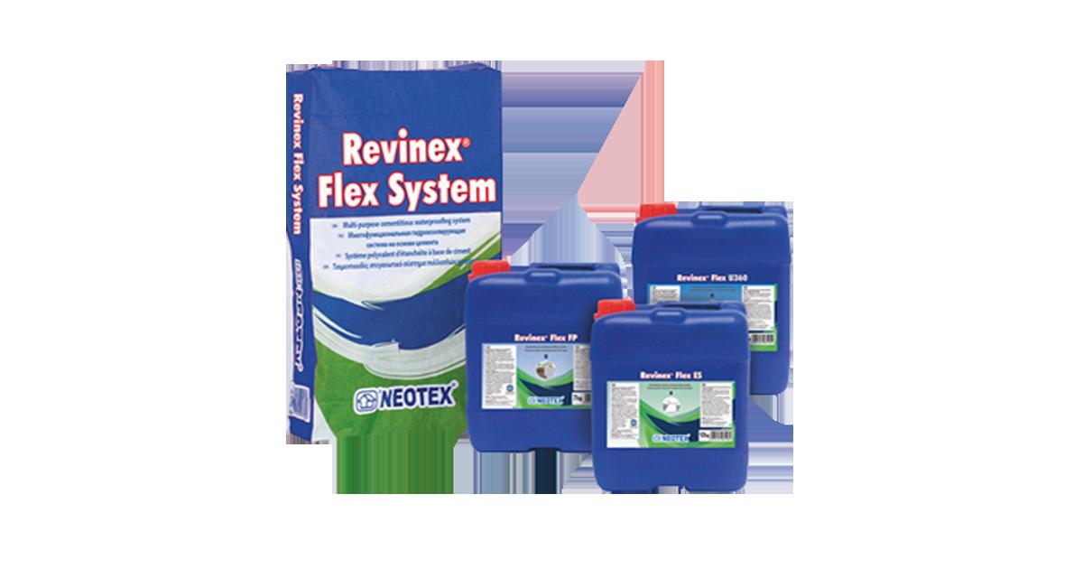 Revinex Flex U360 – Vật liệu chống thấm gốc xi măng Neotex