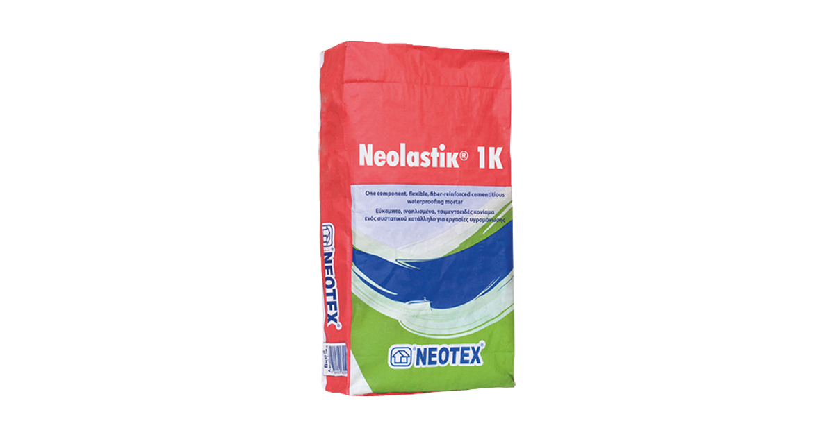 Neolastik 1K-Vật liệu chống thấm gốc xi măng Neotex