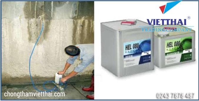 bơm keo epoxy Xử lý vết nứt