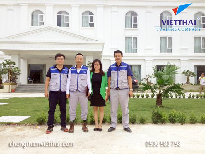đội ngũ kỹ sư chống thấm Việt Thái sẵn sàng phục vụ