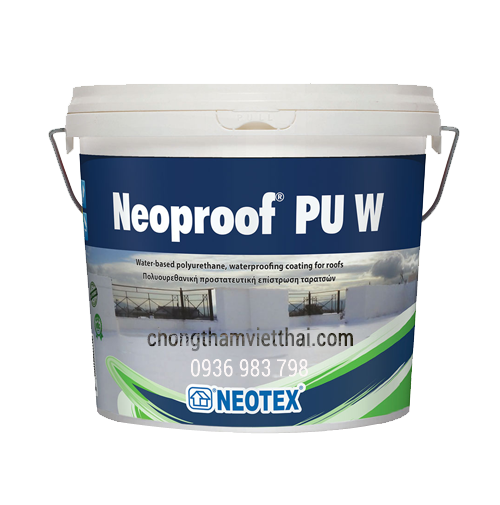 chất chống thấm polyurethane neoproof pu w