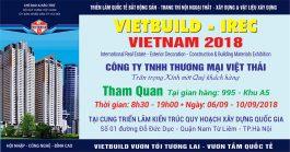 Chống thấm Việt Thái thông báo chương trình Vietbuild Hà Nội 2018 lần thứ hai