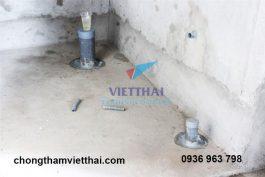 7 bước cần lưu ý khi sử dụng vật liệu chống thấm nhà vệ sinh