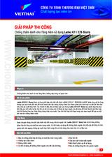 Quy trình chống thấm tầng hầm gốc xi măng Lanko K11 225 Slurry