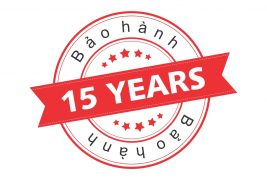 gói bảo hành 15 năm