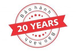 Gói bảo hành 20 năm