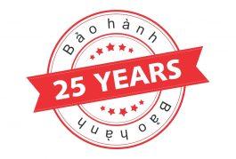 Gói bảo hành 25 năm