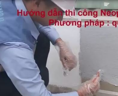 Hướng dẫn thi công Neoproof Pu w