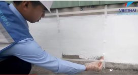 thi công chống thấm mái bằng PU 360