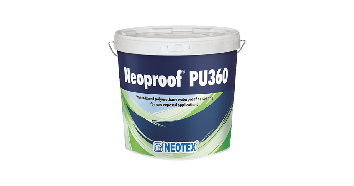 Chất chống thấm nhà vệ sinh Neoproof® Pu360
