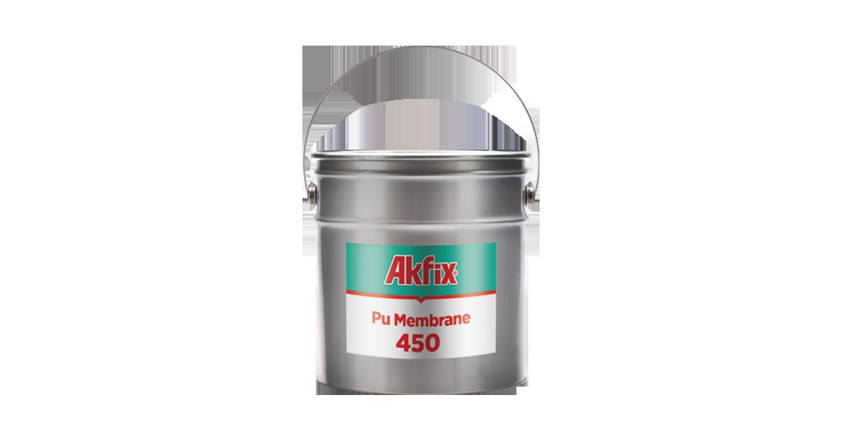 Chất chống thấm sàn mái Akfix Pu Membrane 450 25 kg