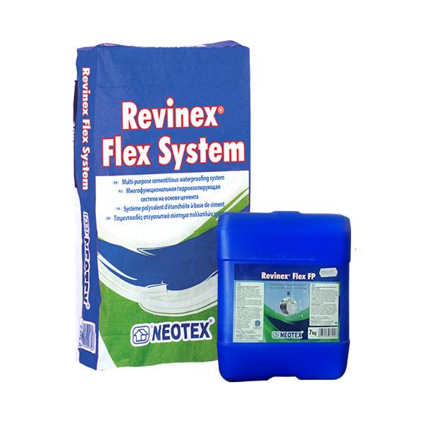Vật liệu chống thấm gốc xi măng Revinex Flex FP 32 kg