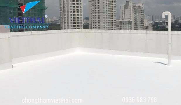 chống thấm sàn mái chung cư cao tầng