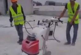 xử lý bề mặt trước khi chống thấm