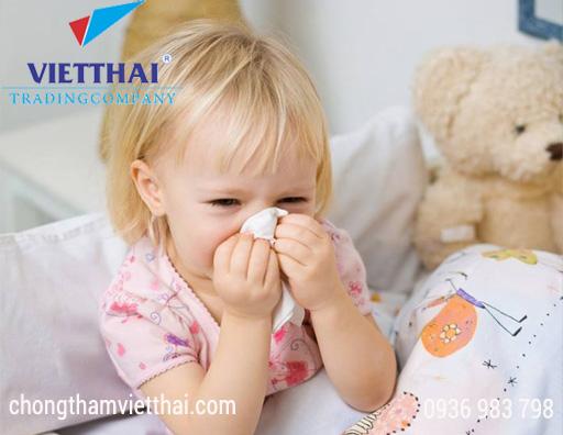 Nấm mốc là nguyên nhân gây bệnh hô hấp cho trẻ