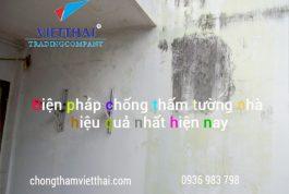 Phương pháp chống thấm tường nhà cũ hiệu quả tuyệt đối