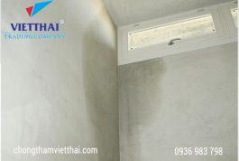 Vật liệu chống thấm tường nhà tốt nhất hiện nay