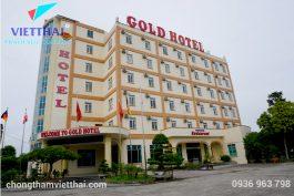 Chống thấm sàn mái Gold Hotel Ninh Bình