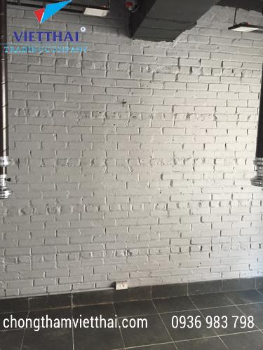 sơn chống thấm tường trong nhà 3 tầng