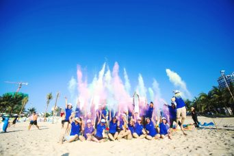Bật cười với chương trình Việt Thái teambuilding gala Đà Nẵng