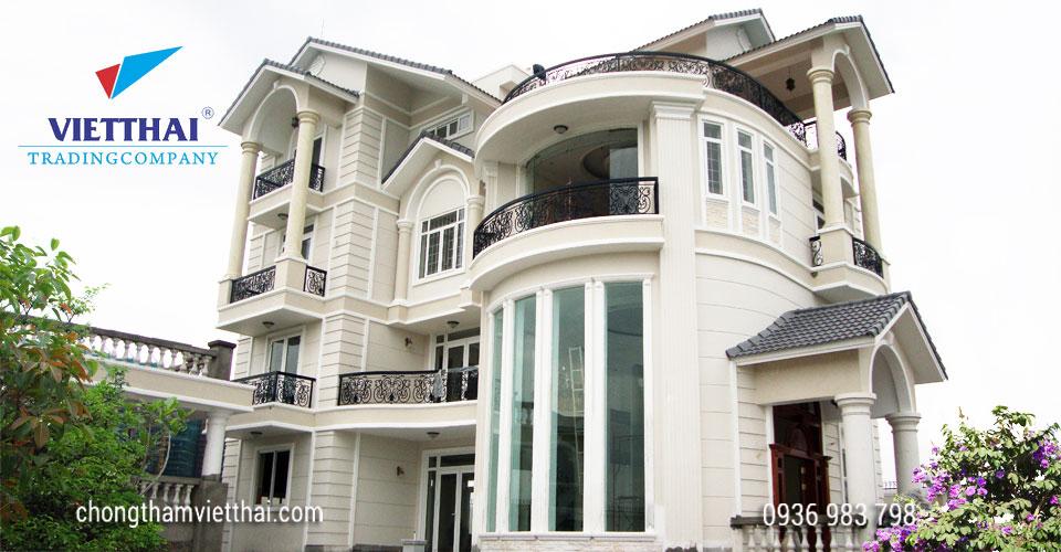 Trong ngôi nhà, vật liệu chống thấm được  ứng dụng như thế nào