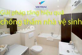 Giải pháp tăng hiệu quả chống thấm nhà vệ sinh bằng Neotex
