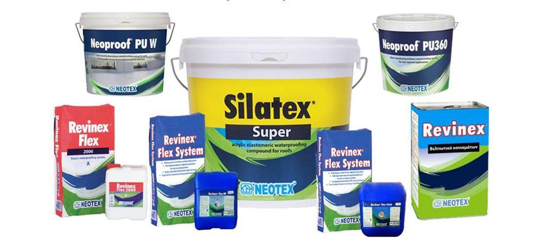 Vật liệu chống thấm Neotex
