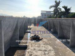 quy trình chống thấm sàn mái bê tông an toàn