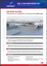 Quy trình chống thấm chống nóng sàn mái phủ bảo vệ Silatex_Super