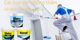 sơn chống thấm tốt nhất cho tường đứng