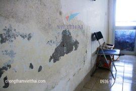 tường bị thấm ,mốc lâu ngày