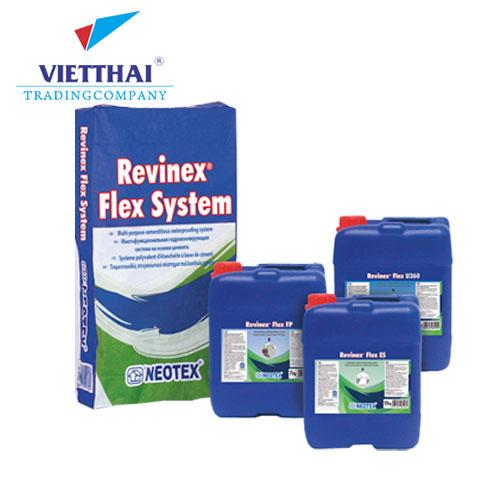 vật liệu chống thấm gốc xi măng revinex flex