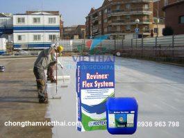 Vật liệu chống thấm sàn bê tông an toàn và hiệu quả