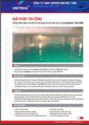 Quy trình chống thấm bể nước Neotex Revinex 2006
