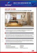 Quy trình chống thấm nhà vệ sinh-khu vực ẩm ướt Neotex Revinex Flex U 360