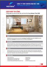 Quy trình chống thấm nhà vệ sinh, khu vực ẩm ướt Revinex Flex U360 – Neotex