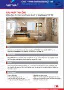 Quy trình chống thấm nhà vệ sinh-khu vực ẩm ướt Neotex Neoproof PU 360