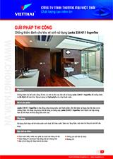 Quy trình chống thấm khu vệ sinh sử dụng Lanko 228 K11 Superflex