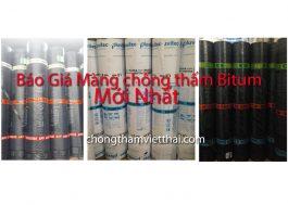 Báo giá màng chống thấm bitum mới nhất trên thị trường