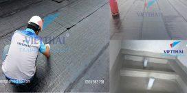thi công dán màng khò nóng chống thấm nhà vệ sinh