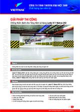 Quy trình chống thấm tầng hầm gốc xi măng Lanko K11 Matryx 202