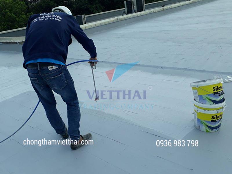 giải pháp thi công chống thấm sàn mái hữu hiệu cho chống thấm và cách nhiệt