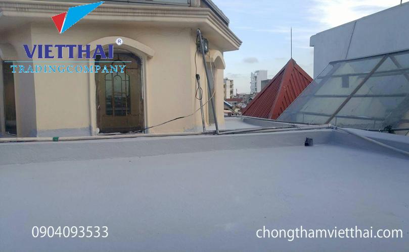 thi công silatex super chống thấm sân thượng